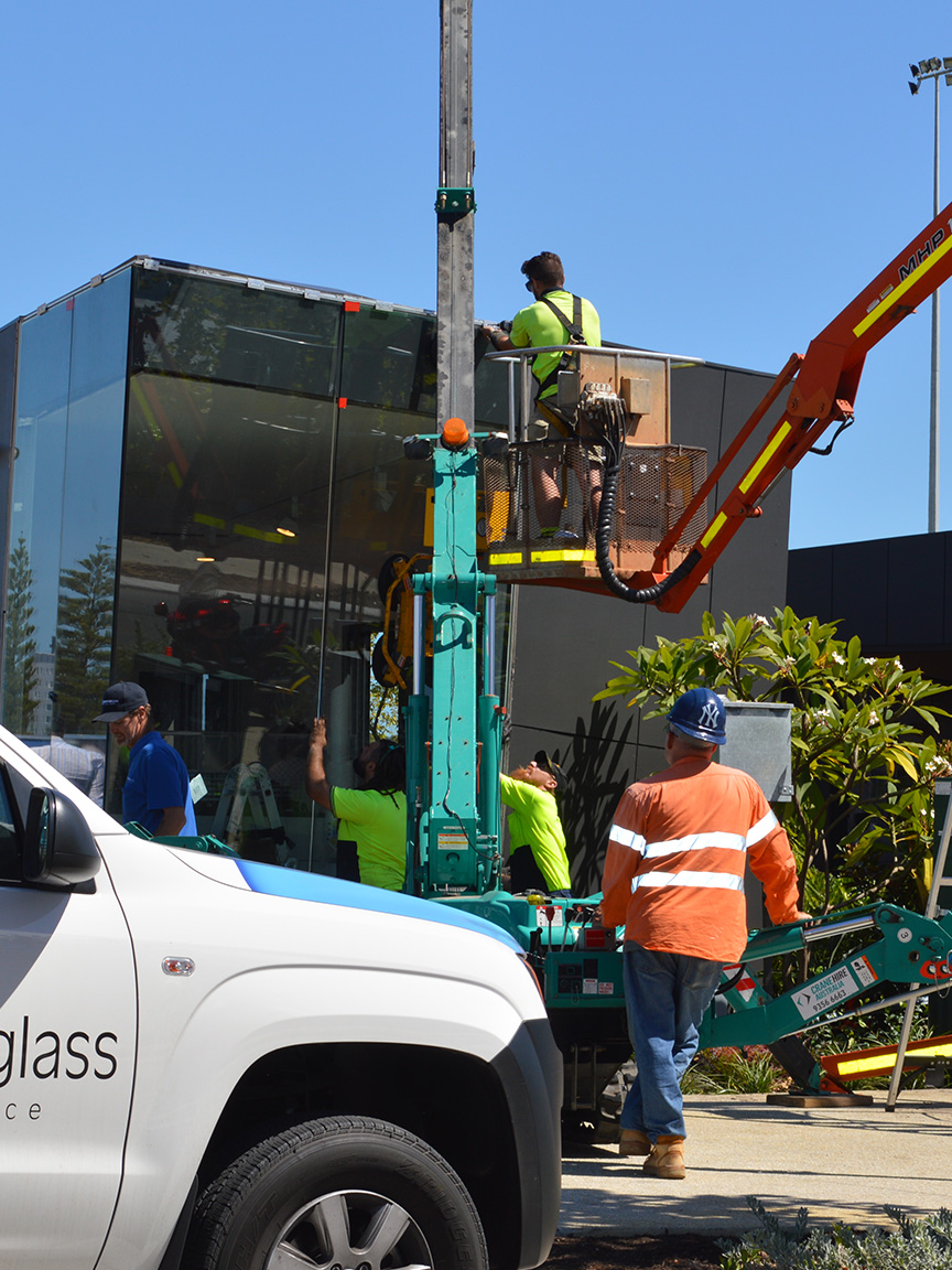 Commercial Glass Installation Perth